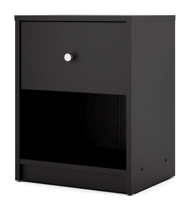 noční stolek May černá