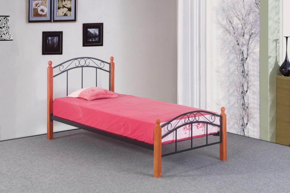 postel Dorka olše 90x200 cm
