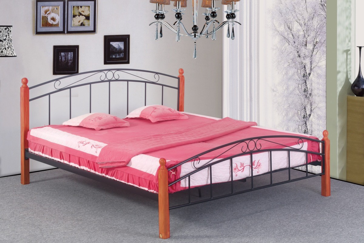 postel Dorka olše 140x200 cm