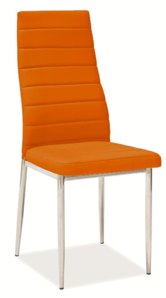 jídelní židle F-261 oranžová