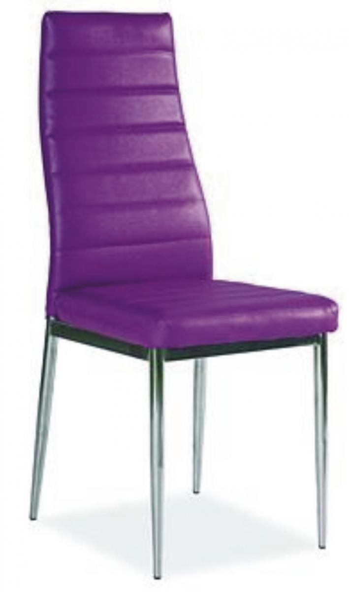 jídelní židle F-261 fialová