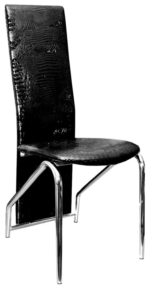 jídelní židle F-131 černá lesk