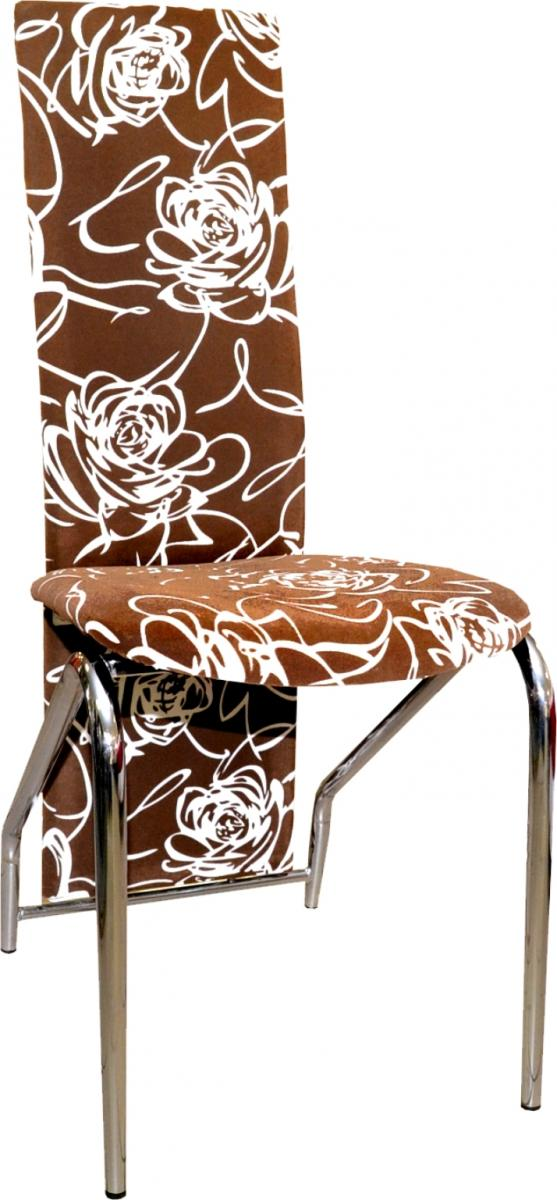 Jídelní židle F-131 hnědobéžová