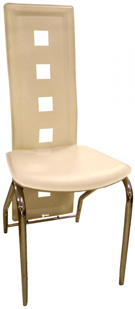Jídelní židle F 131 bílá káva