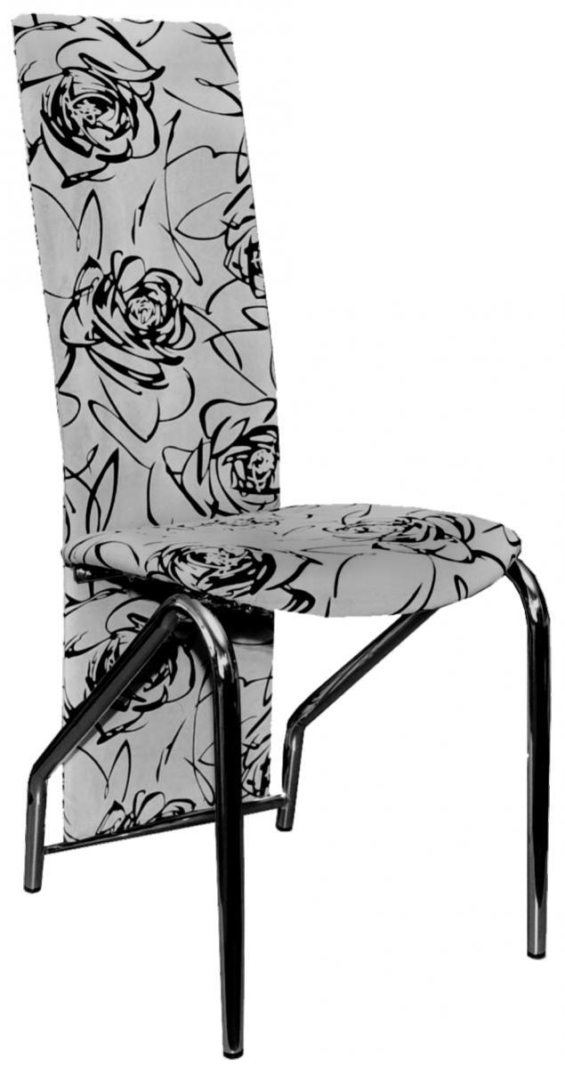 Jídelní židle F-131 šedočerná