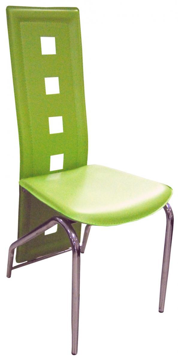 Jídelní židle F-131 zelená