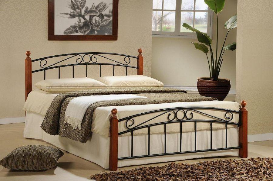 postel Dorka třešeň 180x200 cm