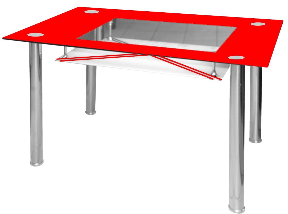 jídelní stůl B 175 červený