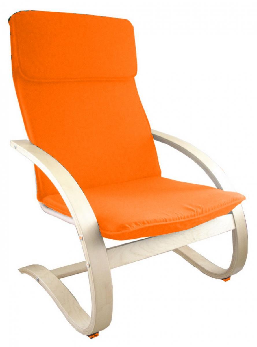 relaxační křeslo Falco oranžové