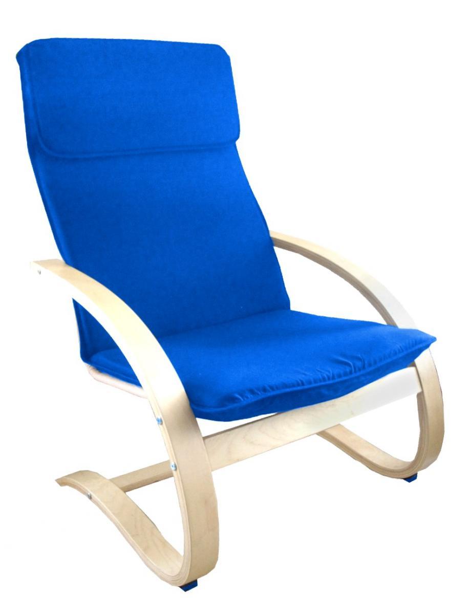Relaxační křeslo světlé modré