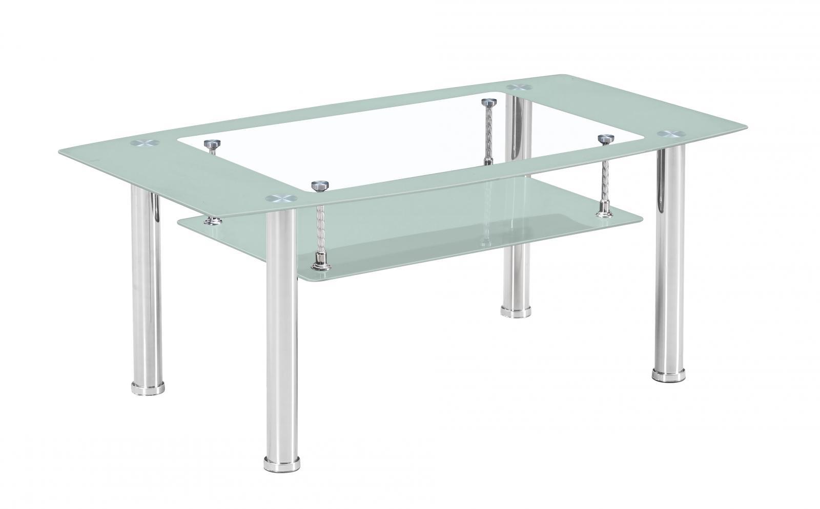 konferenční stolek BA-3 Frame bílý