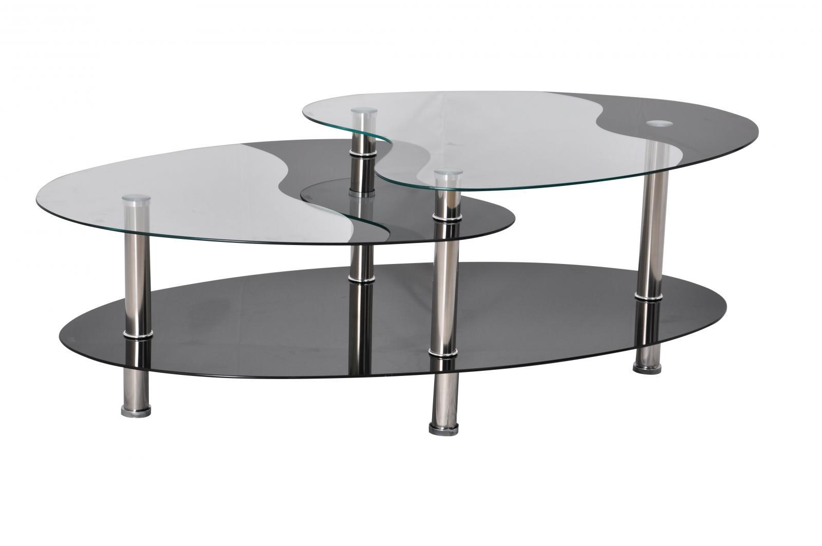 konferenční stolek BA-5 Oval černý