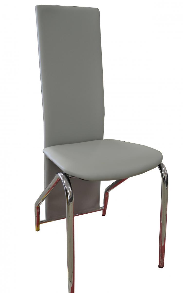 Jídelní židle F-131 šedá