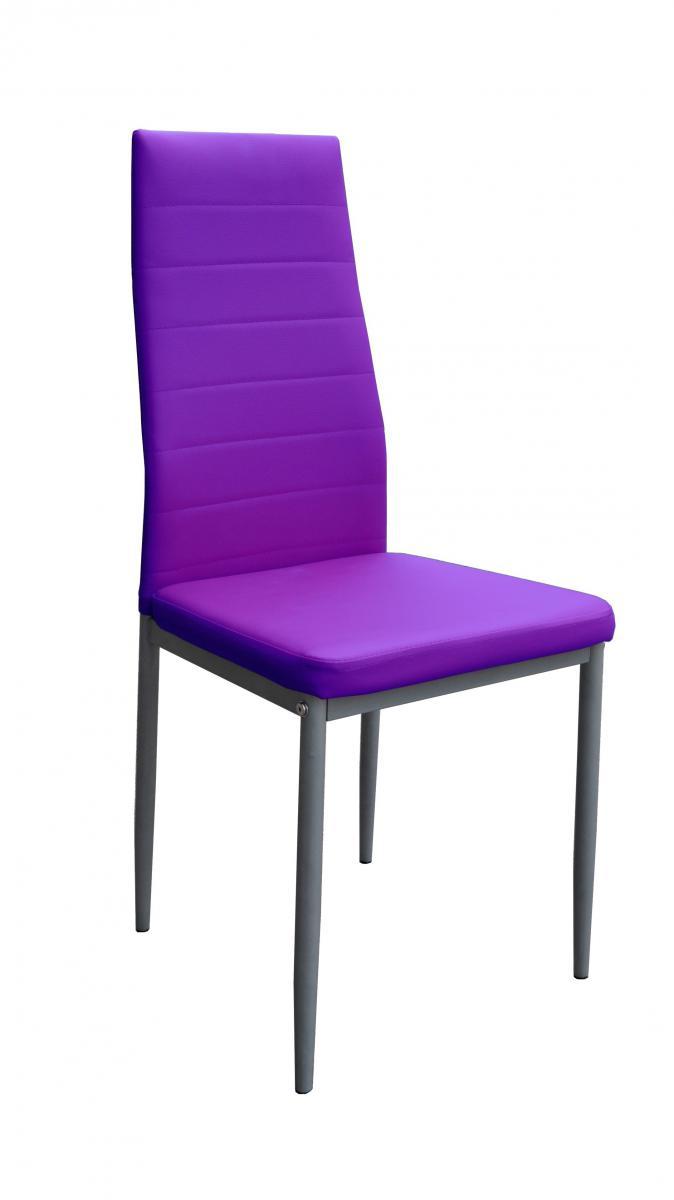 jídelní židle Milan fialová