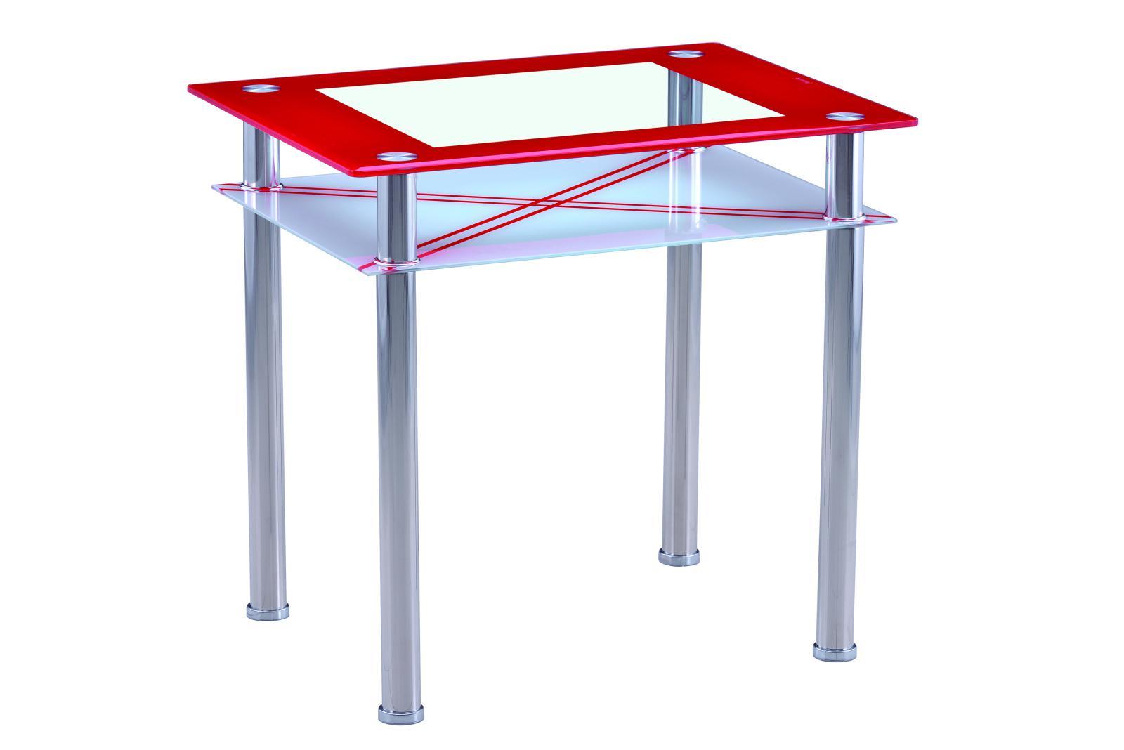 Jídelní stůl B 66 červený