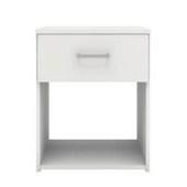 Noční stolek Sid 1S bílý