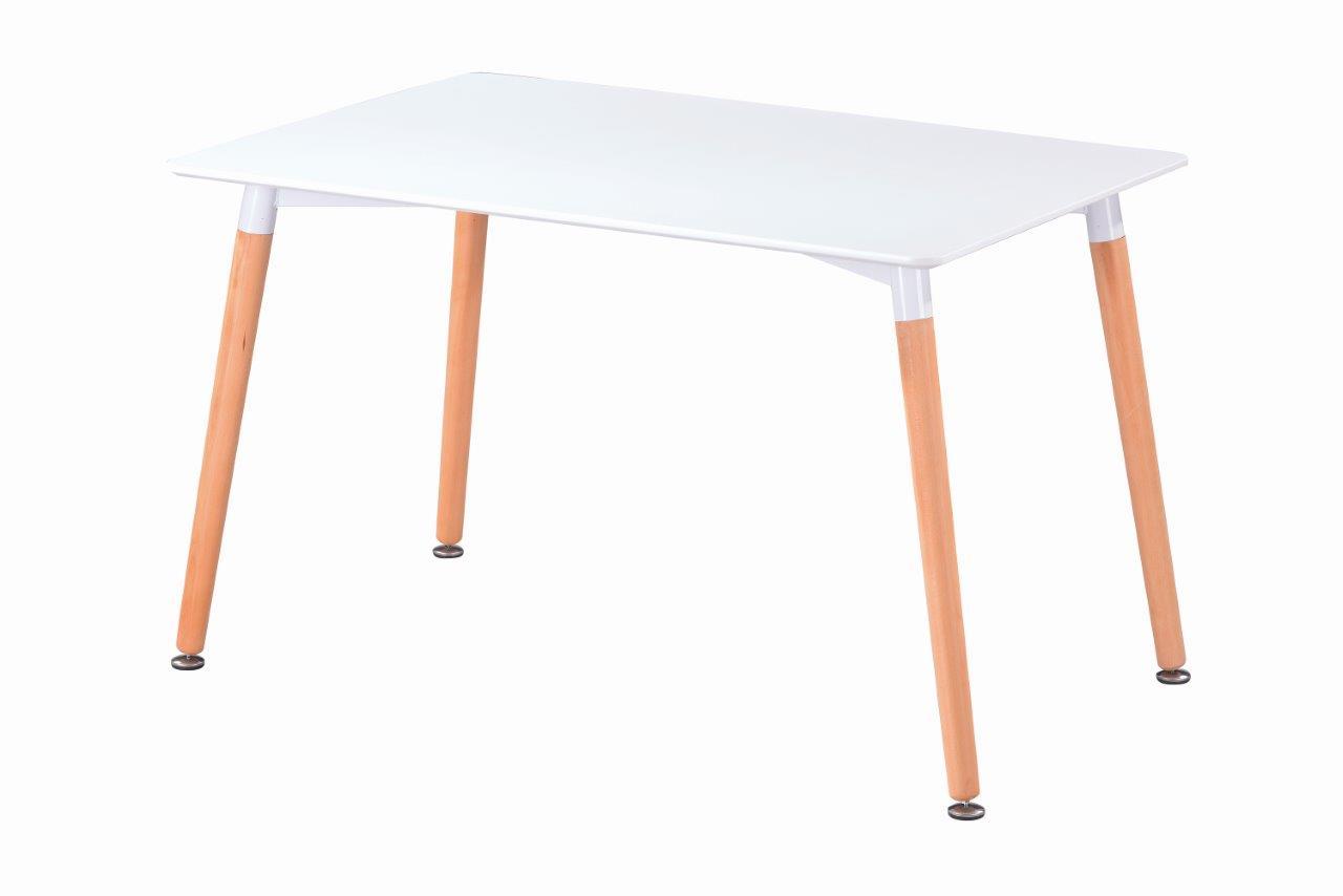 Jídelní stůl Nolan DT04 bílá