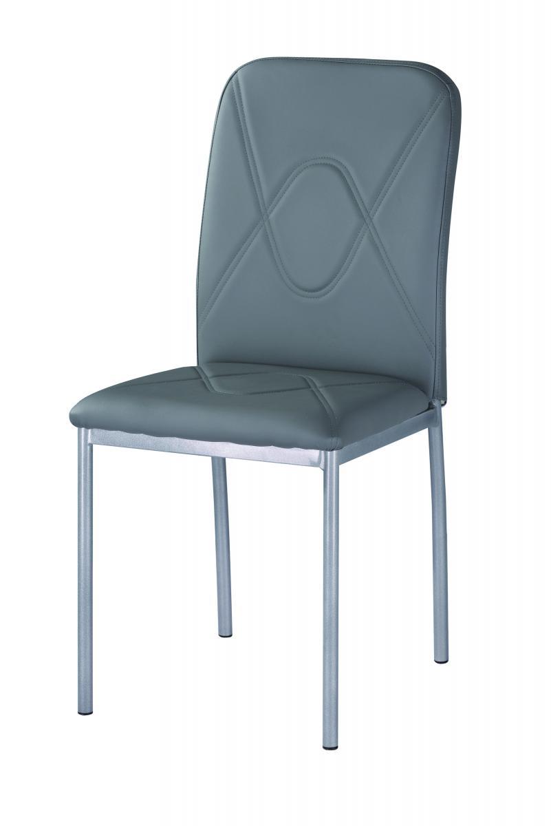 Jídelní židle F-623 šedá