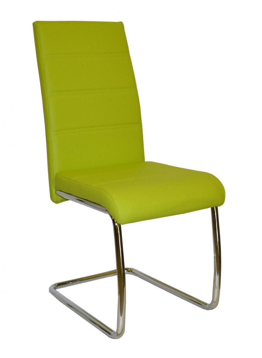 Jídelní židle Y 100 zelená
