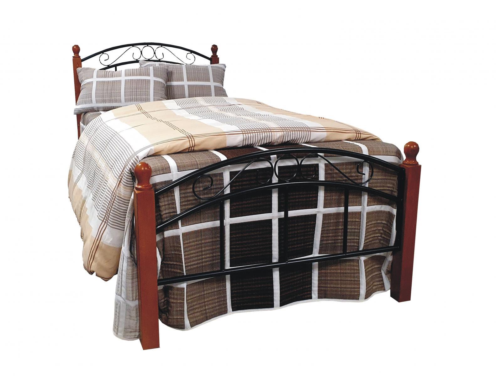 postel Dorka třešeň 90x200 cm