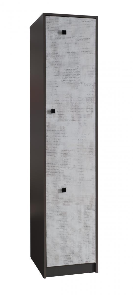 Skříň Tomio R3 grafit/enigma