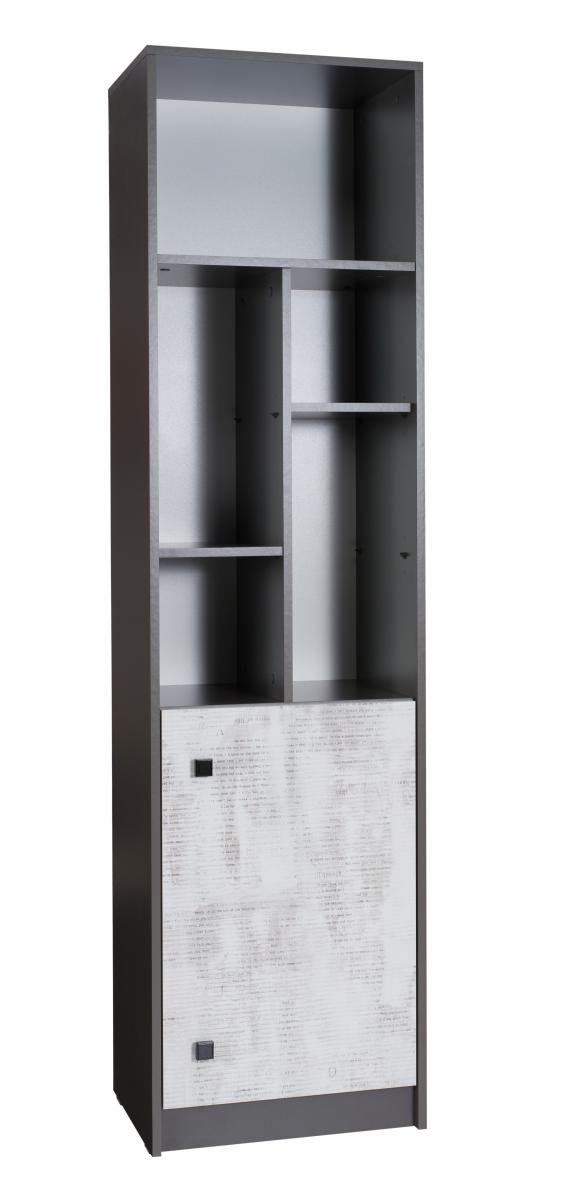 Regál Tomio R5 grafit/enigma