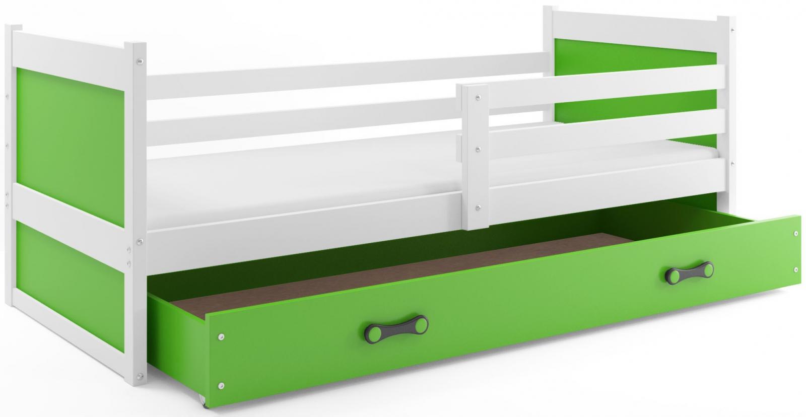 Dětská postel Riky 90x200 bílá