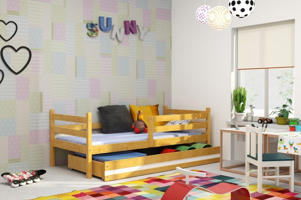 Dětská postel Norbert 90x200 olše