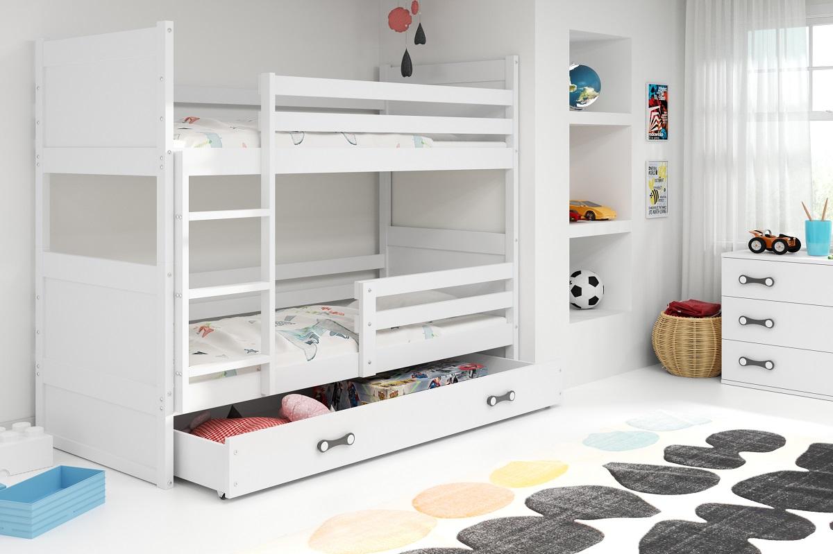 Patrová postel Riky bílá