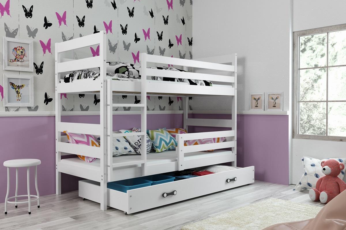 Patrová postel Norbert bílá
