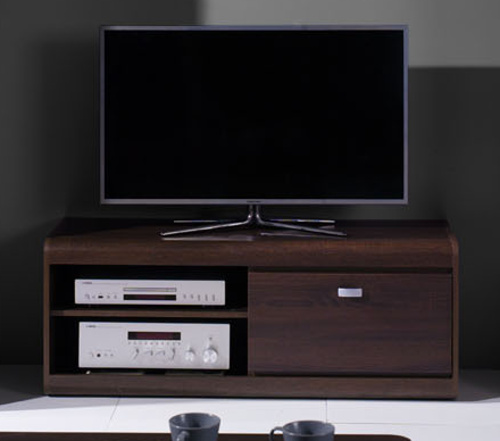 TV stolek Silesia R8 čokoláda