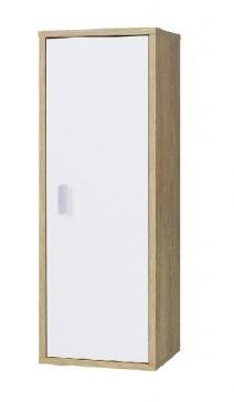 Závěsná skříňka Parker R8 dub lefkas/bílá