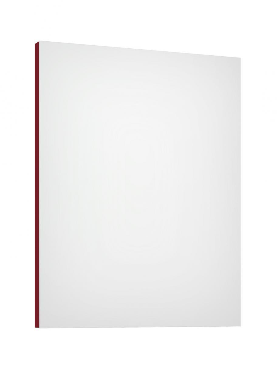 Zrcadlo Como L60/80 červené