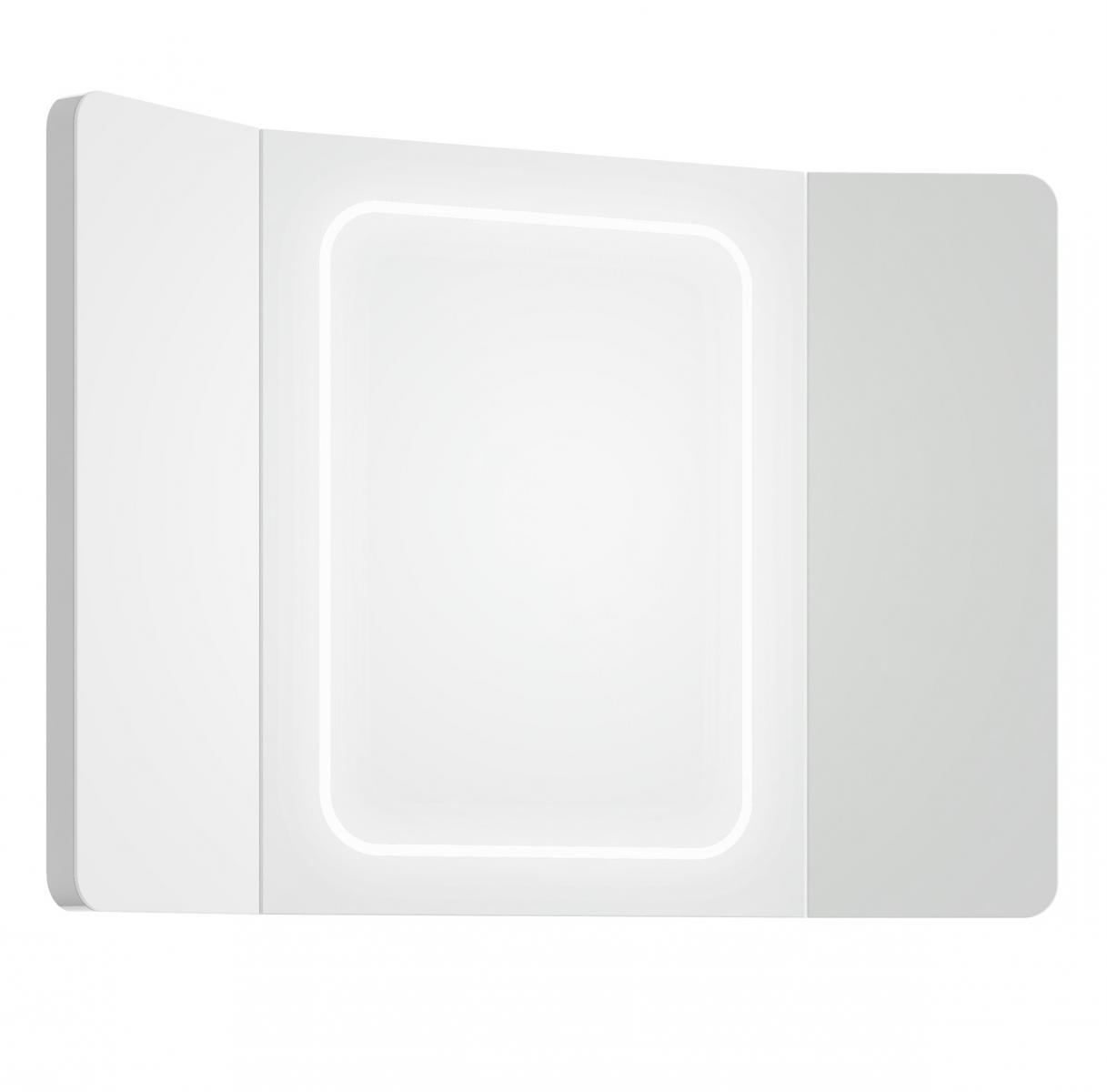 Zrcadlo Triple LED L90 bílé