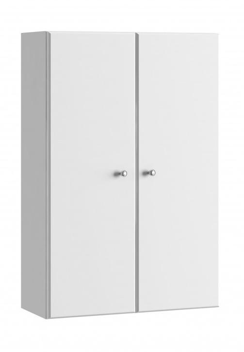 Závěsná koupelnová skříňka Tania A50 bílý lesk