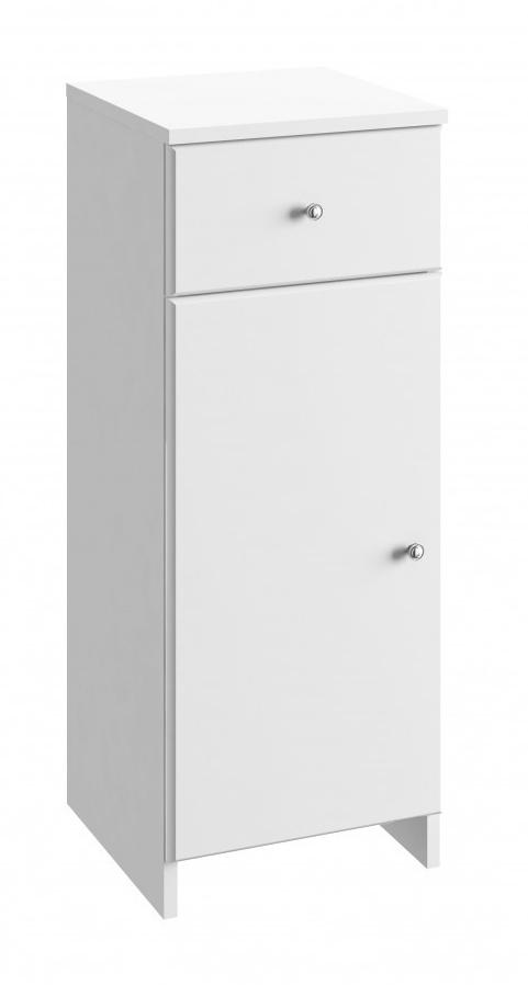 Koupelnová skříňka Tania B32 bílý lesk