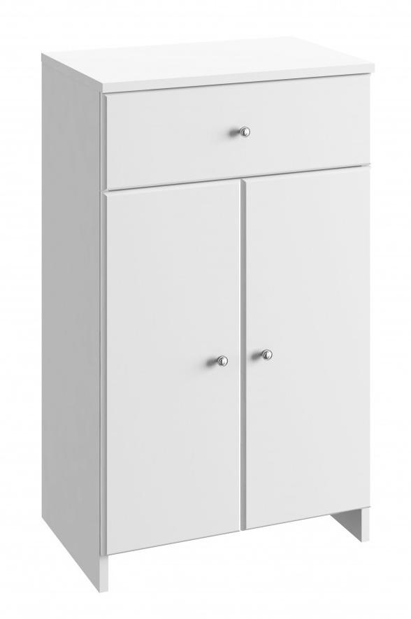 Koupelnová skříňka Tania B50 bílý lesk