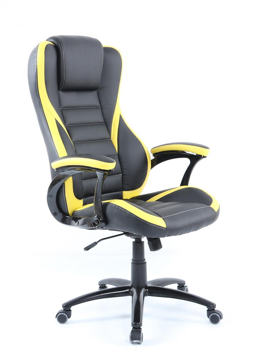 Kancelářské křeslo Idaho 119 BY černá/žlutá