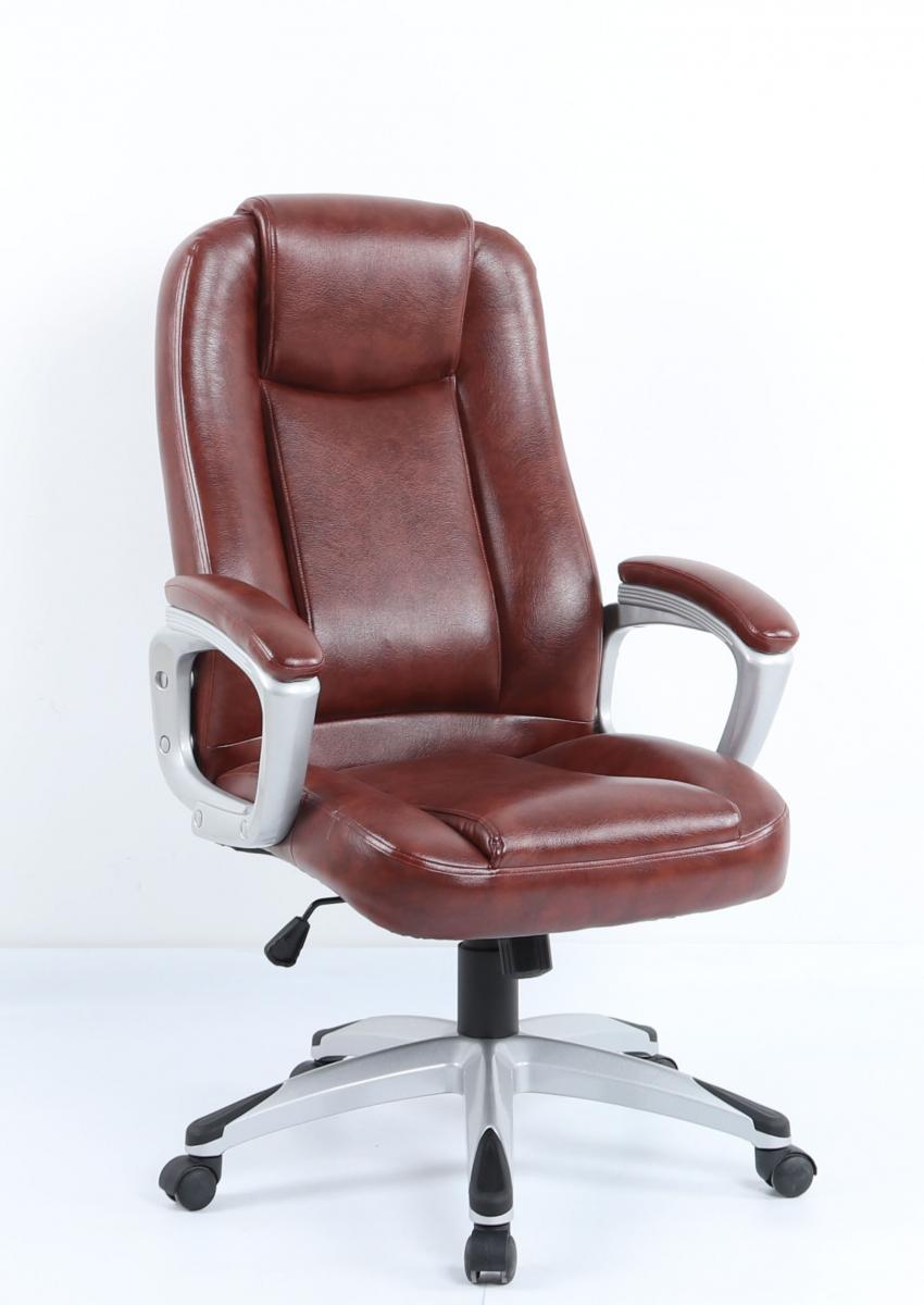 Kancelářské křeslo Komfort C006 hnědé