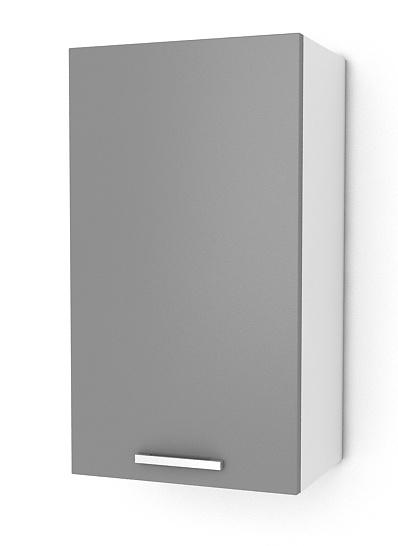 Kuchyňská skříňka Natanya G401D šedý lesk