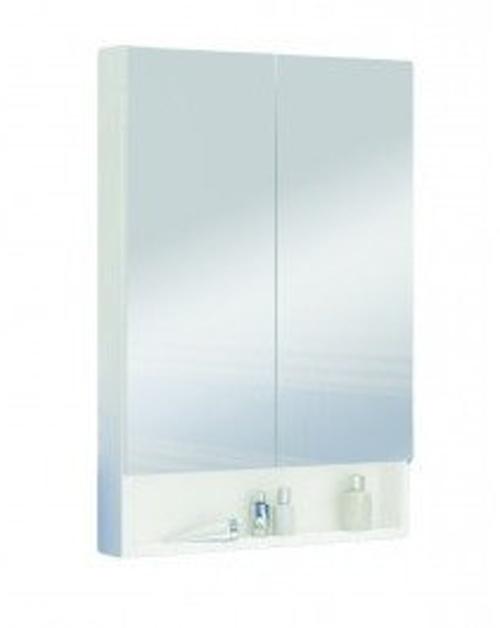 Koupelnová skříňka se zrcadlem Lupo E60 bílá