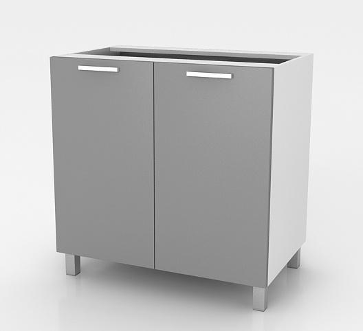 Kuchyňská skříňka Natanya D602D bílý lesk