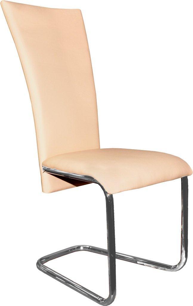 Jídelní židle F-245 lososová