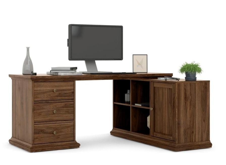 Rohový psací stůl Provence 822 ořech