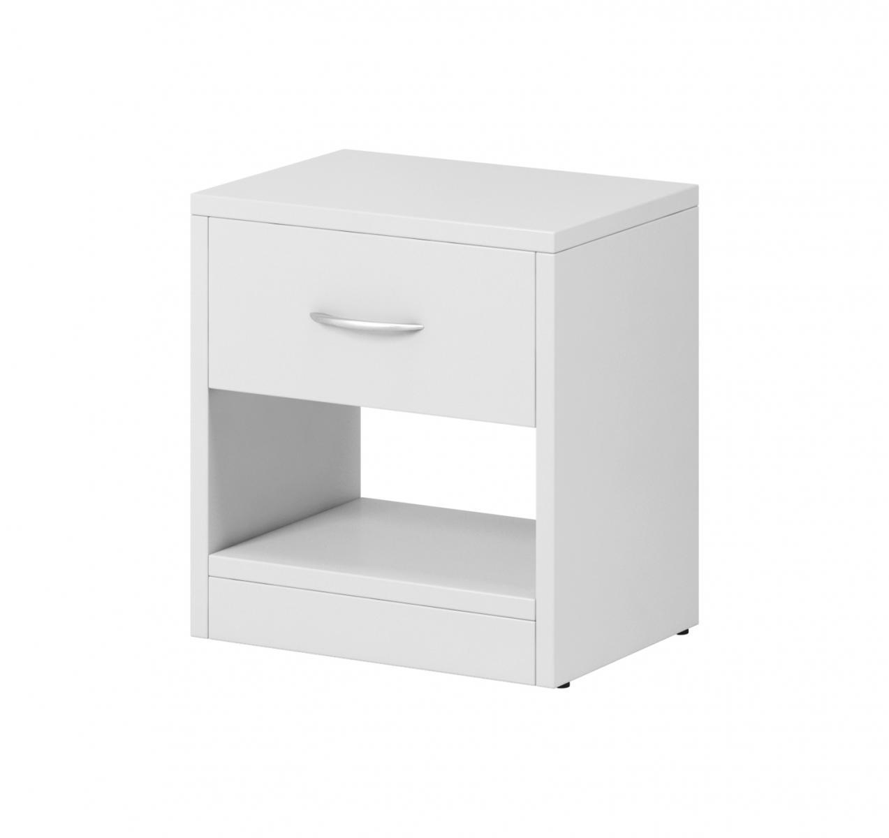 Noční stolek Izzy 1s bílý