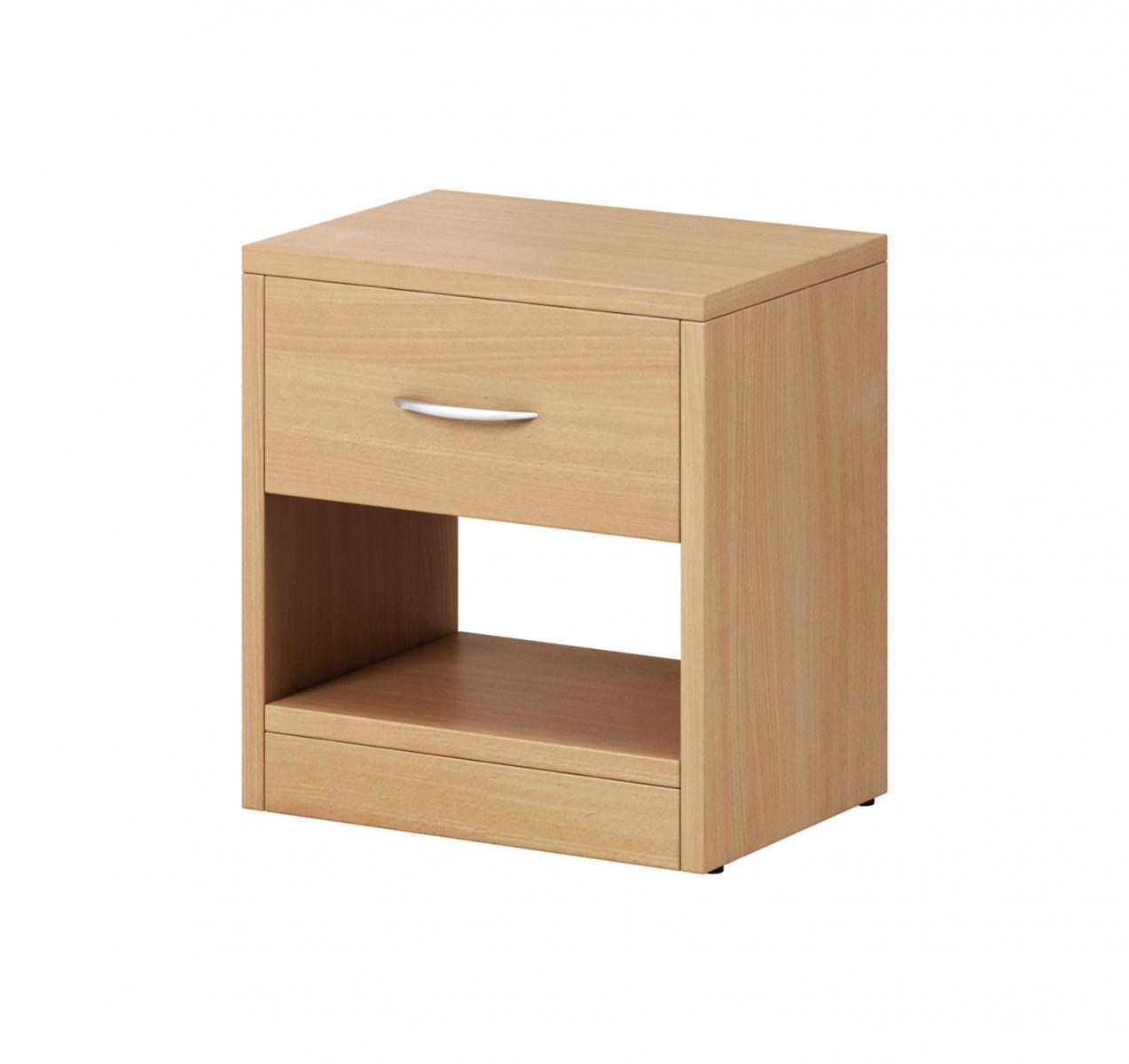 Noční stolek Izzy 1s buk