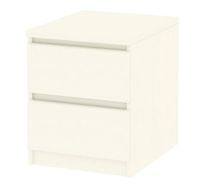 Noční stolek Simplicity 291 bílý woodgrain