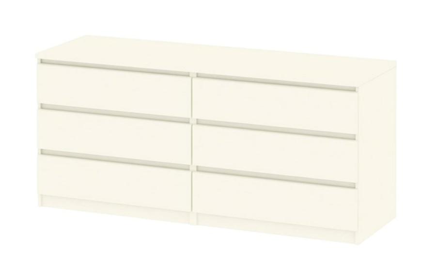 Komoda Simplicity 296 woodgrain bílá