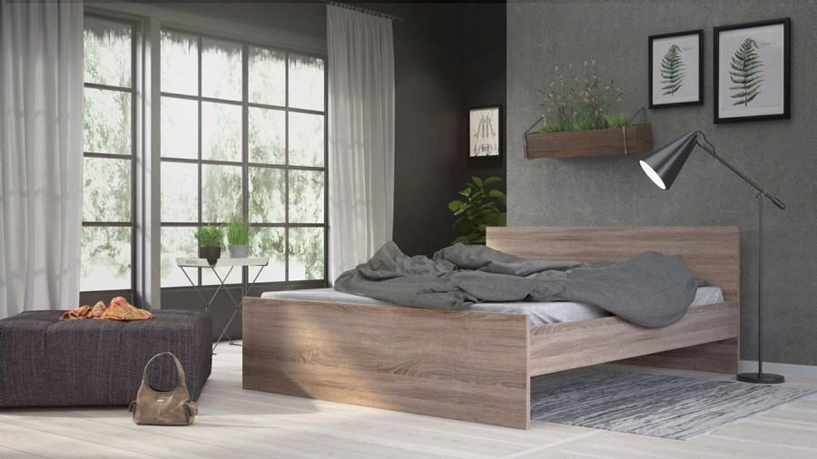 Postel Simplicity 213 160x200 cm truffle