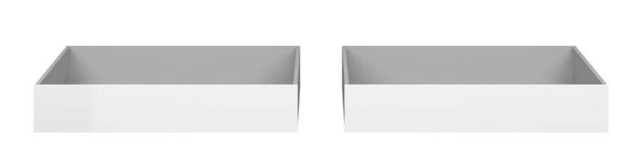Úložný prostor Simplicity 242 bílý lesk